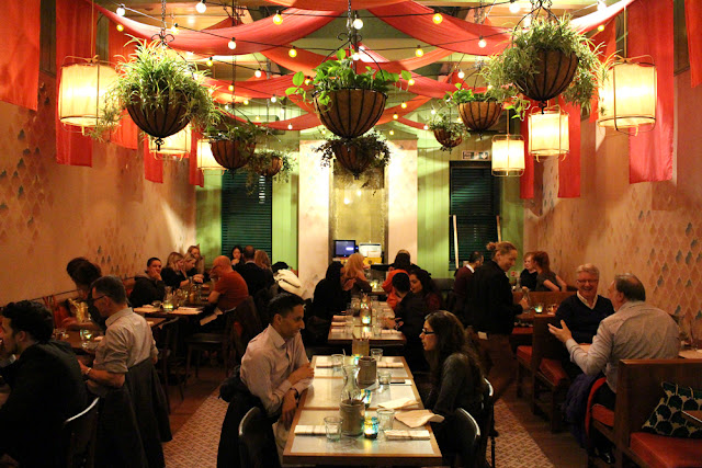Cinnamon Bazaar Indian restaurant, Covent Garden - London lifestyle blog