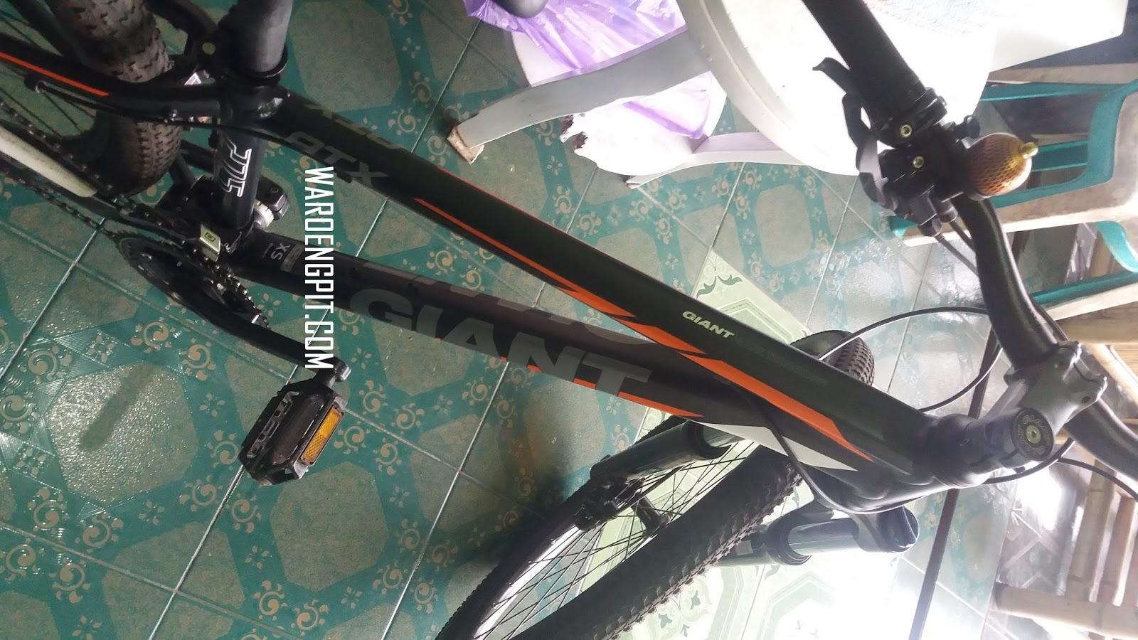 Jual Sepeda Bekas Giant ATX Abu - Abu