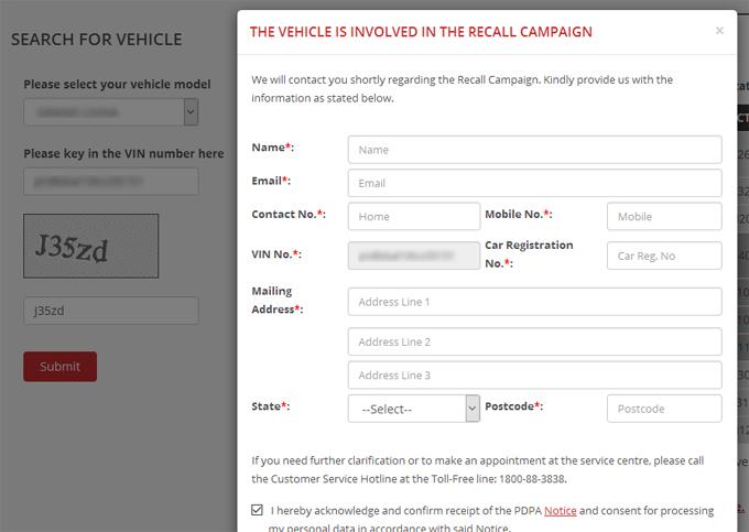 Cara Semak Samada Kereta Nissan atau Toyota Anda Terbabit Recall Campaign