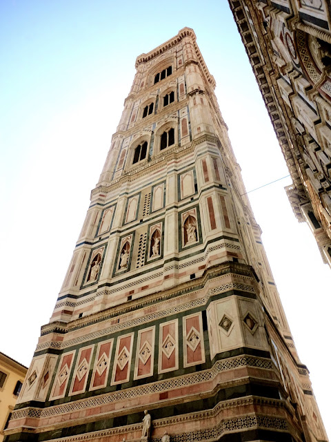 The bell tower, Campanile di Giotto, in Florence, Italy