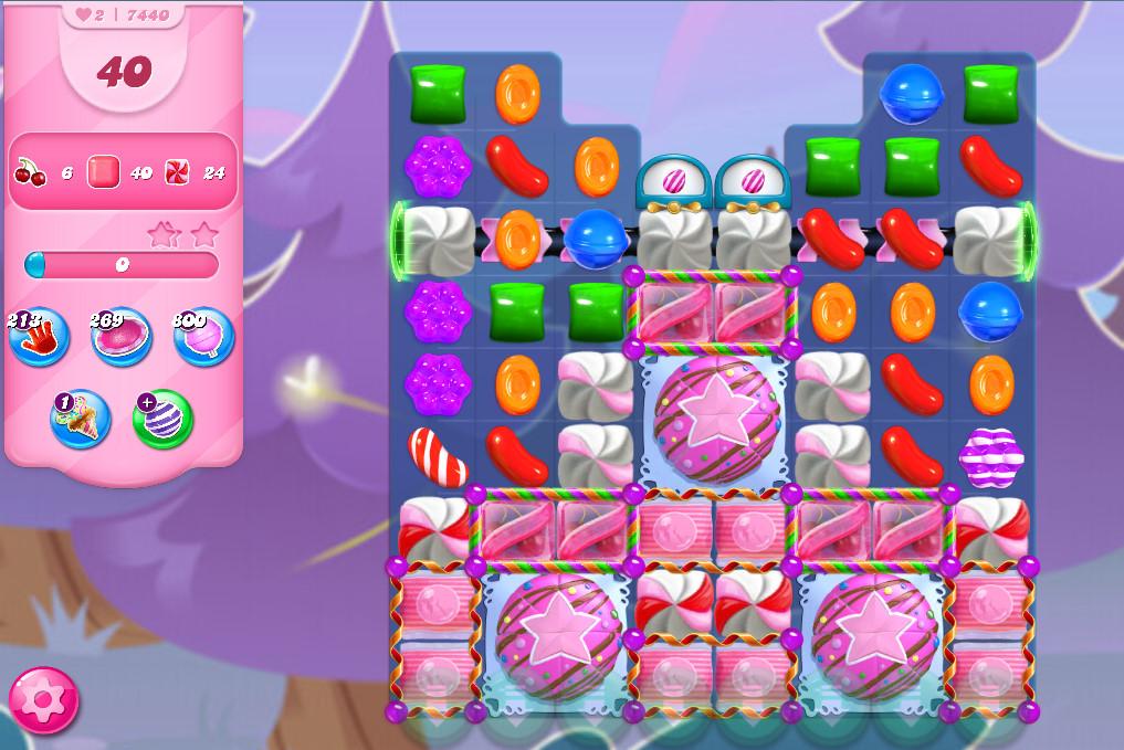 Candy Crush Saga level 7440