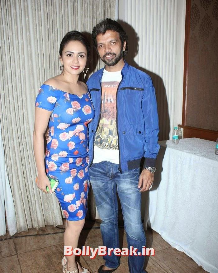 Amruta Khanvilkar, Celebs at 'Pyaar Wali Love Story' Music Launch