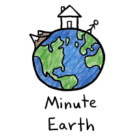 minute earth logo with transparent background or no background