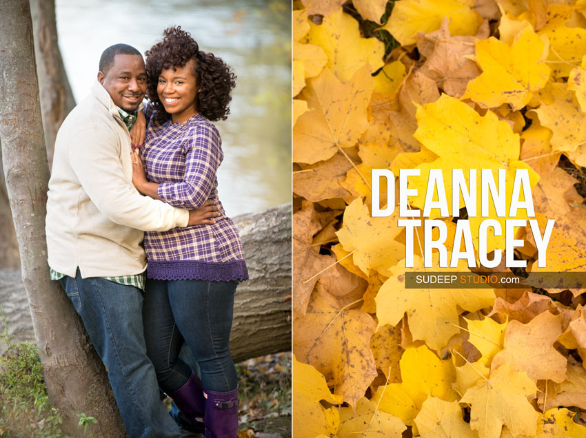 Nichols Arboretum Fall Engagement Photography Session - Sudeep Studio.com Ann Arbor Photographer