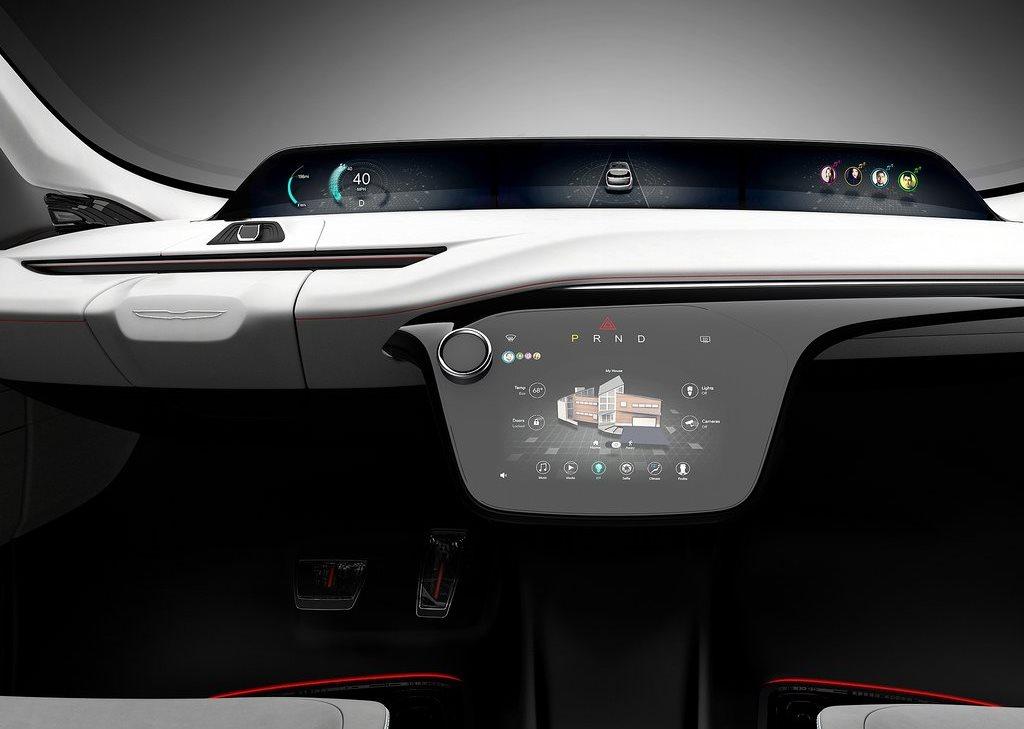 2017 Chrysler Portal Concept Dashboard