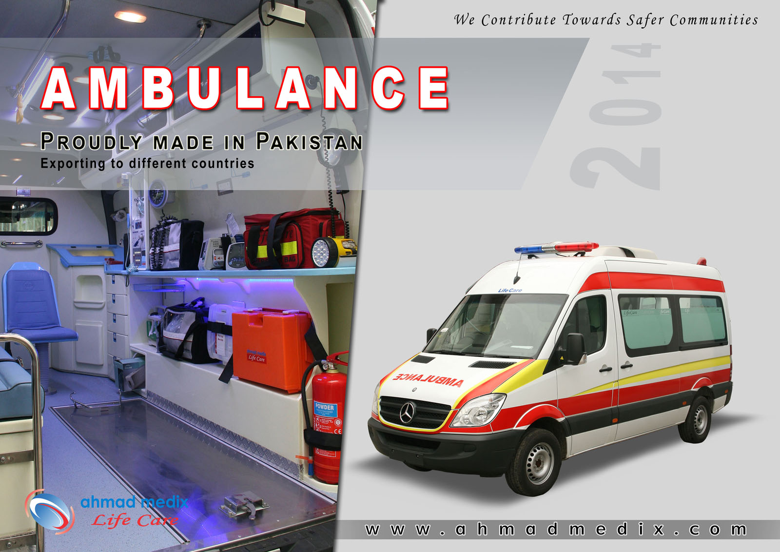 Ahmad Medix (Life Care): Ambulance Internal Veiw