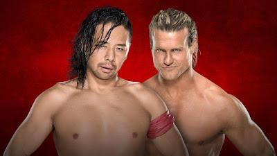 Shinsuke Nakamura vs. Dolph Ziggler