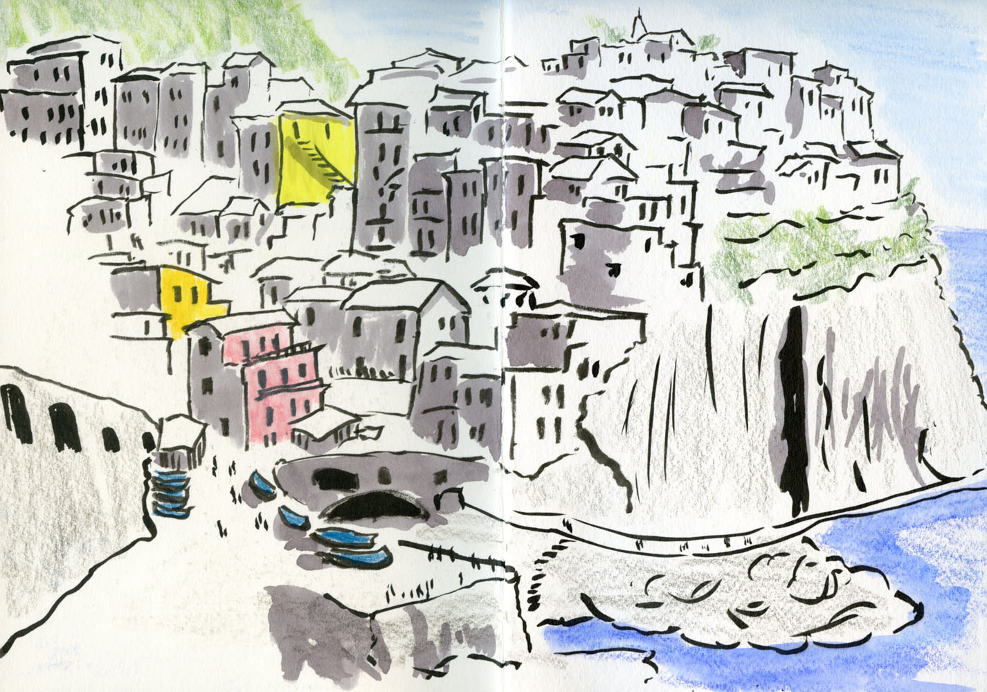 Italy This Time With Sketchbook Urban Sketchers