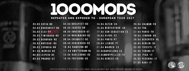 1000mods tour 2017