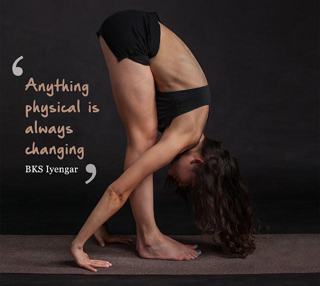 Yoga Master BKS Iyengar quotes image