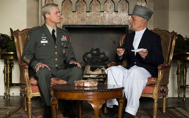 War Machine | Brad Pitt no trailer inédito da sátira de guerra original Netflix