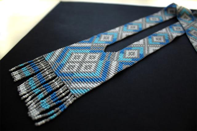 купить украшение гердана на шею из бисера этно украшения интернет магазин