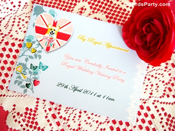 Royal High Tea Party with a British Shabby-Chic Vibe - BirdsParty.com