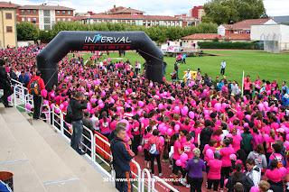 carrera de las mujeres contra el cancer de mama leon