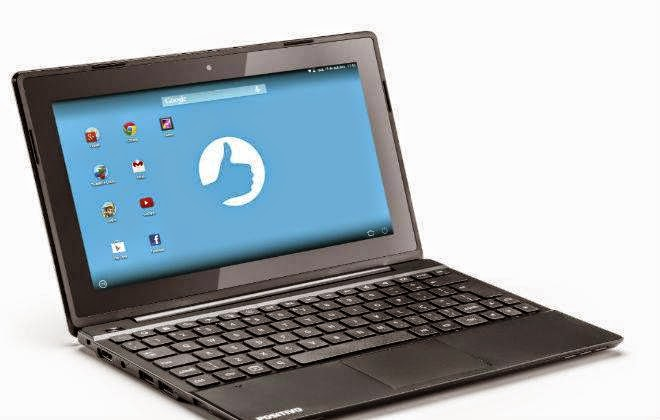Notebook com Android da Positivo