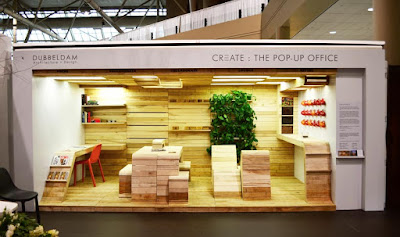 Pop UP Office pallets
