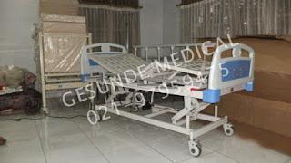 Ranjang Rumah Sakit 3 Crank Elektrik ABS