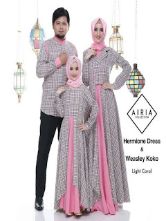 baju seragam batik keluarga untuk lebaran