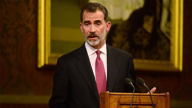 El rey legitima la activación del artículo 155 contra el desafío secesionista en Cataluña