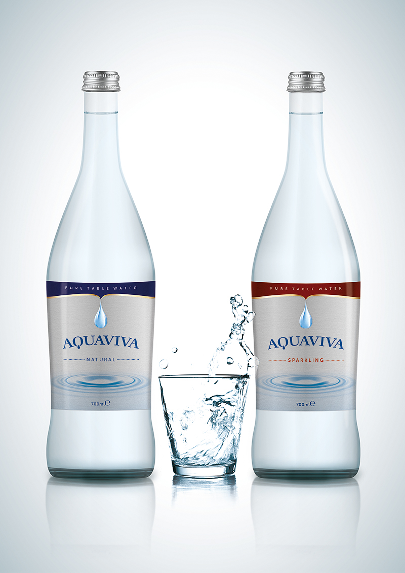 Aquaviva Pure Table Water On Packaging Of The World