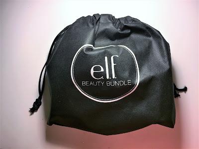 e.l.f. beauty bundle rosegold box free bag
