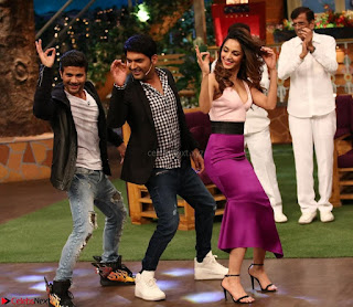The Kapil Sharma Show with Abbas Mustan and Machine cast   TV Show Pics March 2017 08.JPG