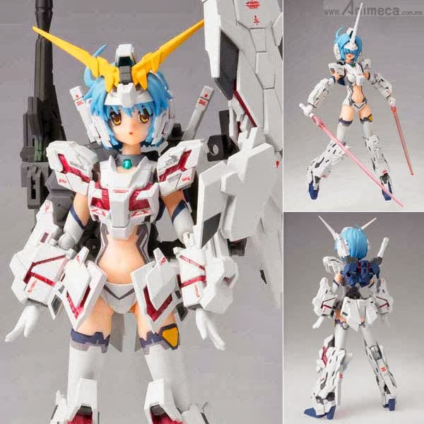 Armor Girls Project MS Girl UNICORN GUNDAM FIGURE BANDAI