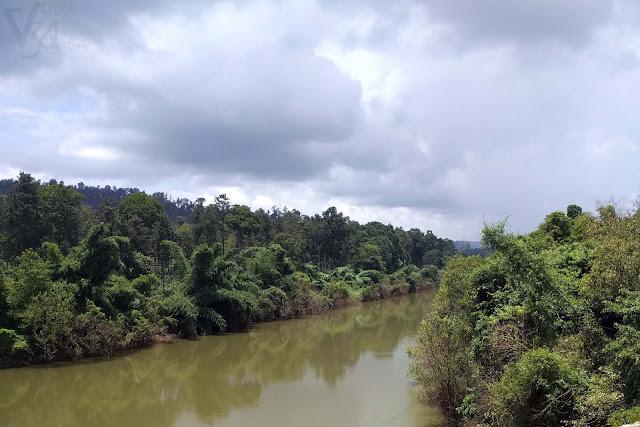 Bhadra river, Balehonnur