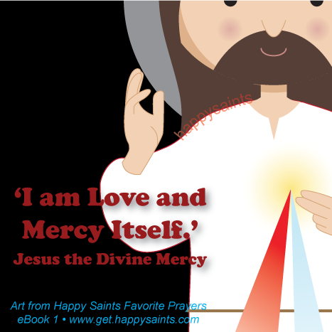 Happy saints the divine mercy the divine mercy fandeluxe Image collections
