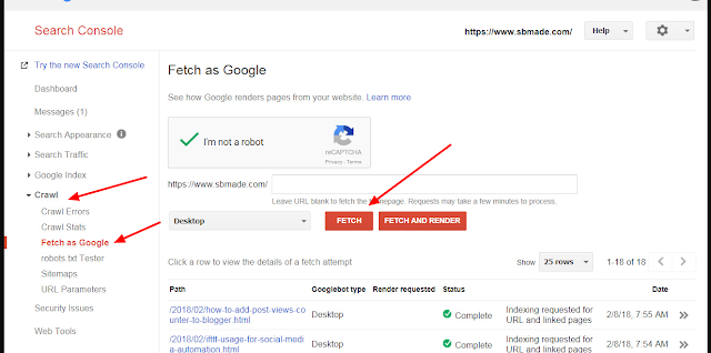 How To Indexed Your Site New Post In Google