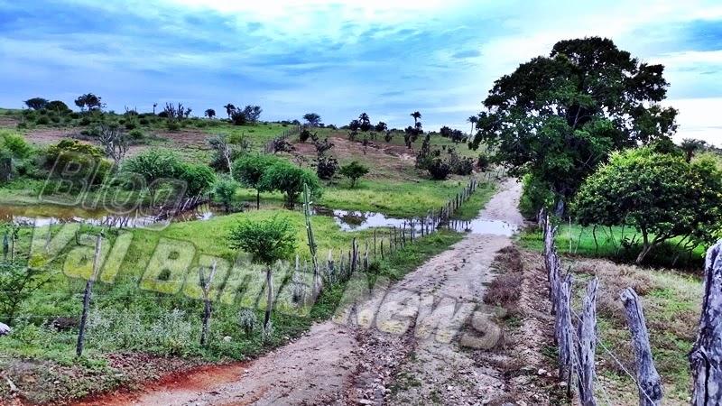 Choveu mesmo de maneira moderada na madrugada deste domingo, 24 de março de 2019, no município de Várzea da Roça/BA, o Val Bahia News percorreu algumas localidades da zona-rural e registrou em fotos pequenos riachos nas localidades de Água Boa e próximo ao povoado de Morrinhos transbordando.