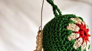 Esferas para el Árbol de Navidad al crochet