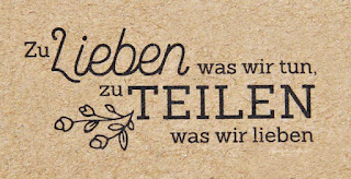 Stampin Up Spruch