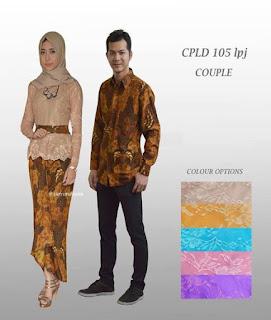 foto baju couple batik lengan panjang