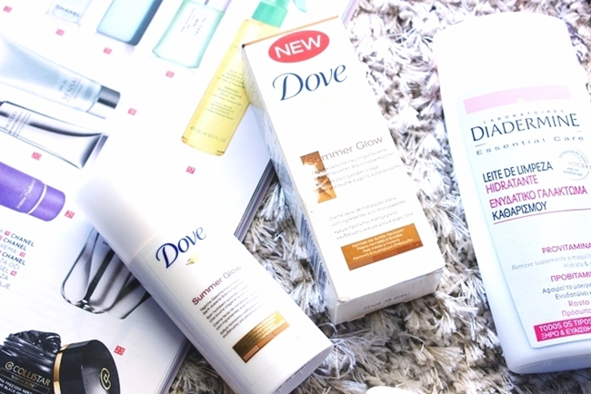Dove Summer glow hydrating self-tanning cream for darker tan.Dove Summer glow krema za samotamnjenje lica.Face skin care lightweight products for spring/summer.Nega koze,lagane kreme za prolece i leto.