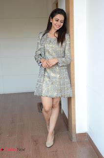 Actress Rakul Preet Singh Latest Picture Gallery in Short Dress  0206