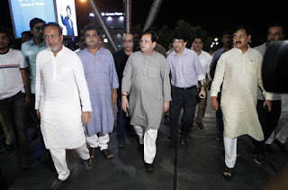 44-congress-legislators-returned-from-bangalore-after-nine-days