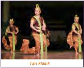 Contoh jenis tari tradisional adalah tari klasik