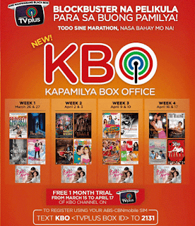 ABS CBN TV Plus KBO