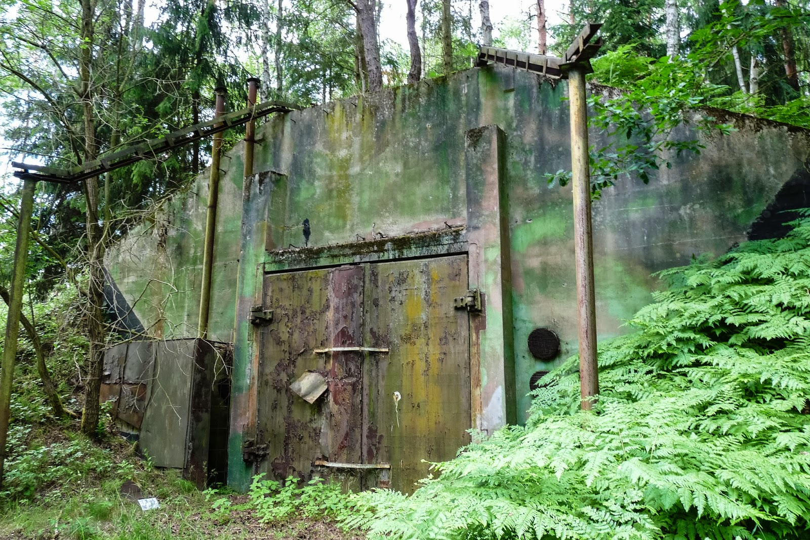 Vogelsang Bunker Diving Spooked By Nukes Abandoned Berlin