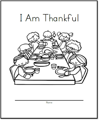 "Let's kick off the month with an exclusive free resource! As your talking about thankfulness in your classroom, your students can complete this ""I am thankful…"" book."