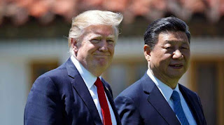 President Donald Trump slams China