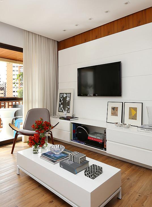 Apartamento decorado Perdizes, Casa2Arquitetos, Blog Achados de Decoração