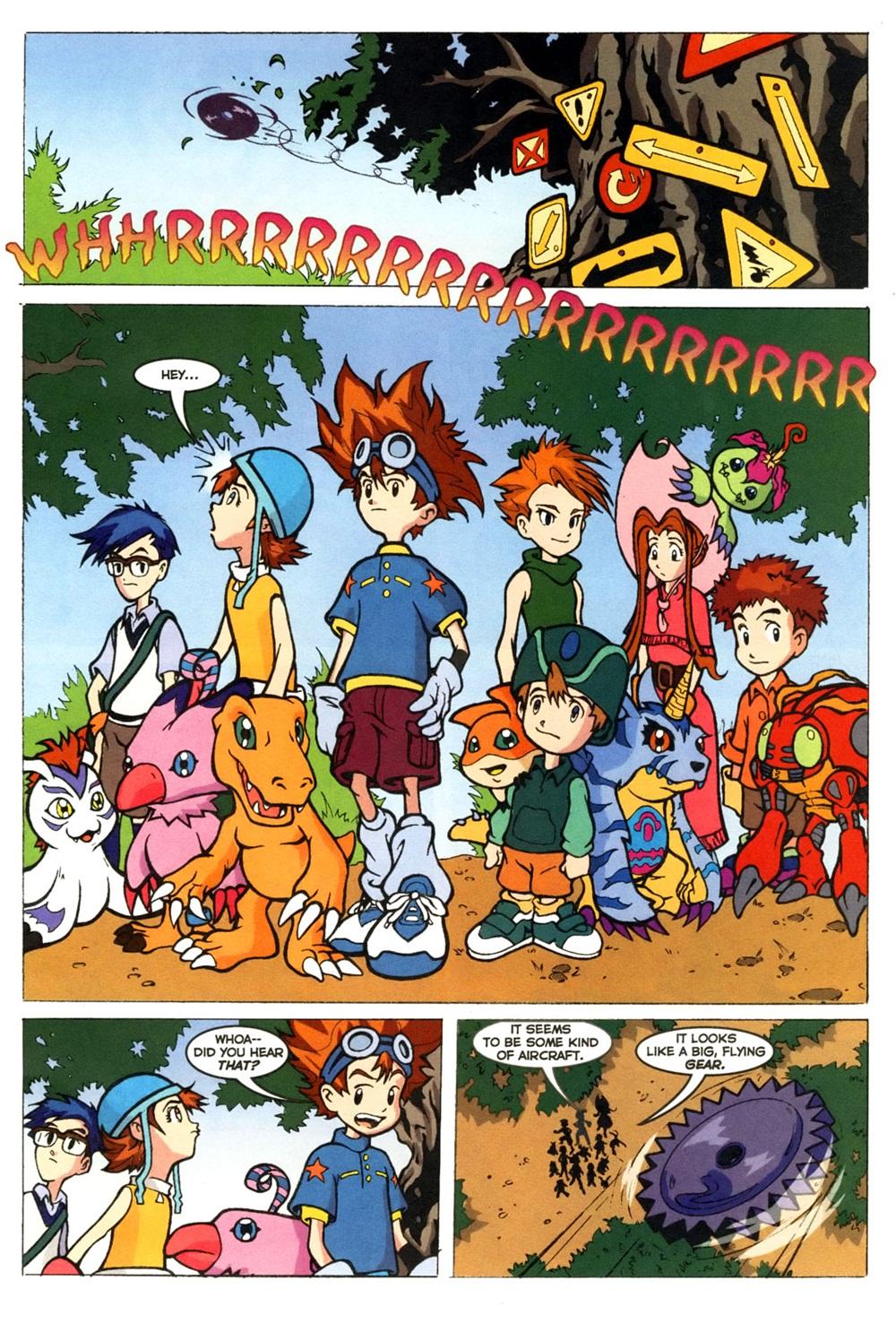 Digimon – Digital Monsters 04 (2000) | Viewcomic reading