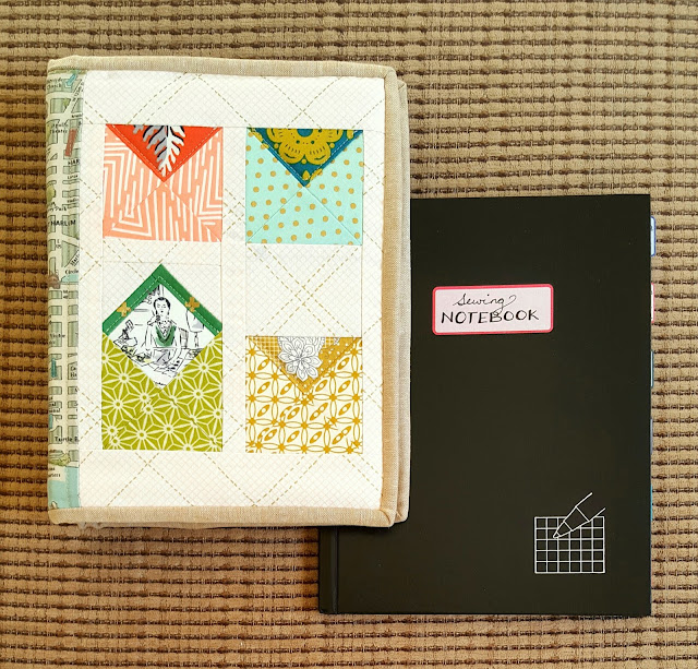 Sewing Notebook by Heidi Staples of Fabric Mutt