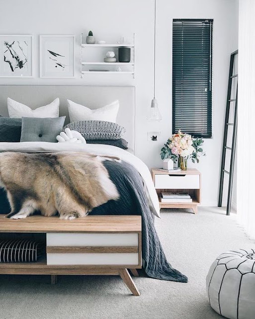 decoración_dormitorio_cama_tocador_vestidor_tonos_neutros_lolalolailo_03