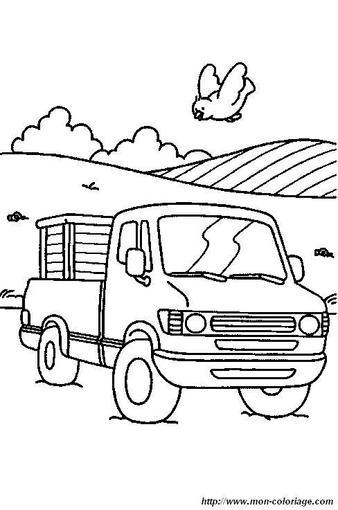 Desenhos de Carros para Imprimir e Pintar