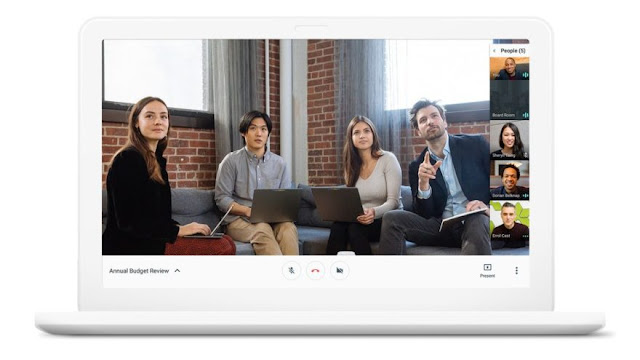 جوجل تكشف عن تطبيقي Chat و Meet لمحادثات الشركات وفرق العمل