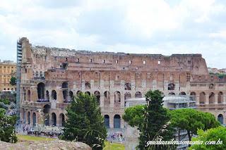 coliseu do palatino guia brasieleira roma - Roma Antiga I - A Idade do Ferro