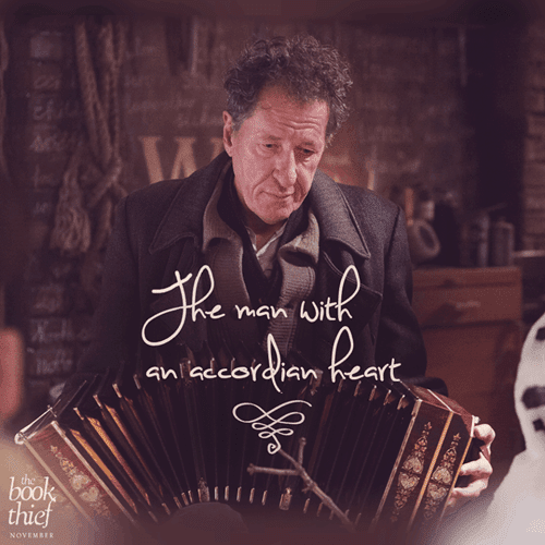 the man with an accordion heart